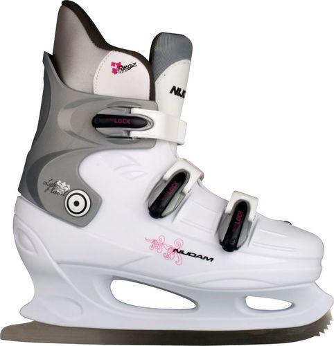 Nijdam Łyżwy hokejowe Hardboot białe r. 37