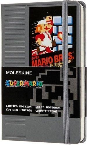 MOLESKINE Notes linia P Super Mario, zielony