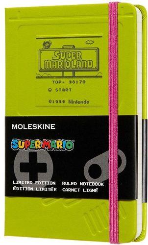 MOLESKINE Notes linia P Super Mario, zielony MOLESKINE