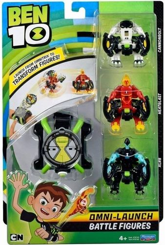Epee Ben 10 Omnitrix Omni Transform 3 figurki