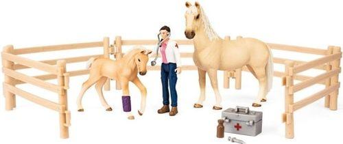 Schleich SLH 72119 Zestaw opieki medycznej dla koni