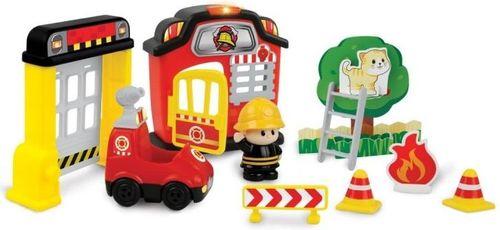 Smily Play Zestaw figurek - Remiza strażacka