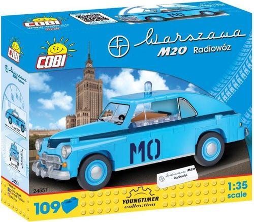 Cobi Klocki Klocki Youngtimer Collection - Warszawa M20 Radiowóz