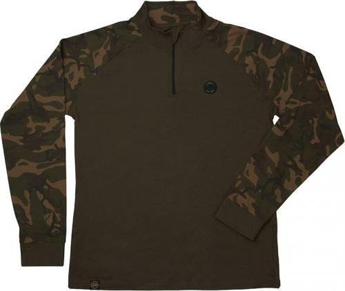 FOX Chunk Camo / Dark Khaki Edition L/S T-shirt - XL (CPR948)
