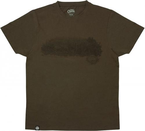 FOX Chunk Dark Khaki Scenic T-shirt - XL (CPR960)