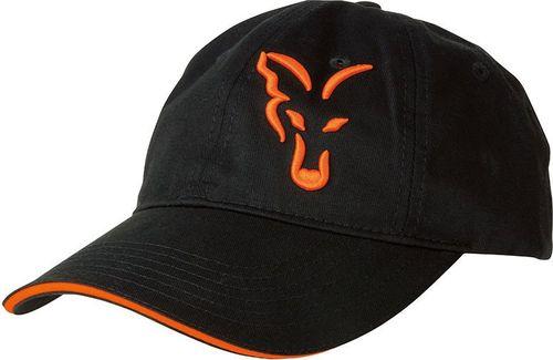 FOX Black / Orange Baseball Cap (CPR925)