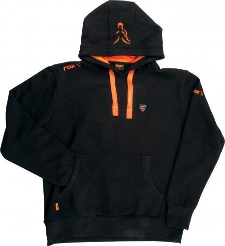 FOX Black / Orange Hoodie - XL (CPR708)