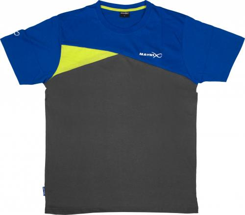 Fox Matrix T-Shirt Blue/Grey roz. S (GPR139)