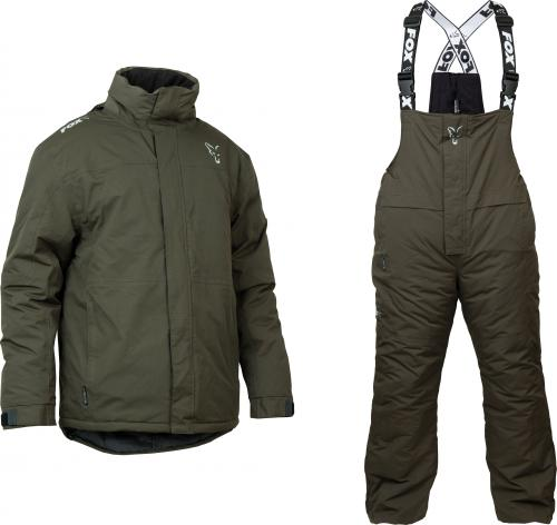 FOX Green & Silver Winter Suit - roz. XXXL (CPR881)