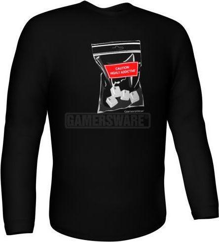 GamersWear Bluza WASD Longsleeve czarna (XXL) ( 5929-XXL )