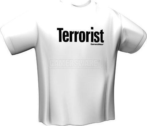 GamersWear TERRORIST biała (L) ( 5018-L )