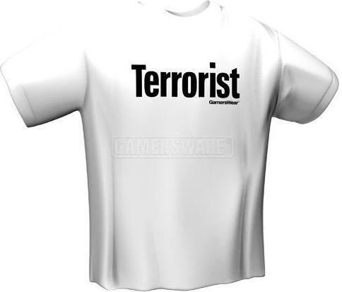 GamersWear TERRORIST biała (S) ( 5018-S )