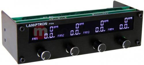 Lamptron Panel FC6 Fan Controller 5.25 ( LAMP-FC0082H )