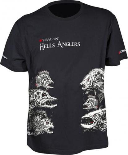 Dragon Fishing T-shirt Hells Anglers Mix r. M