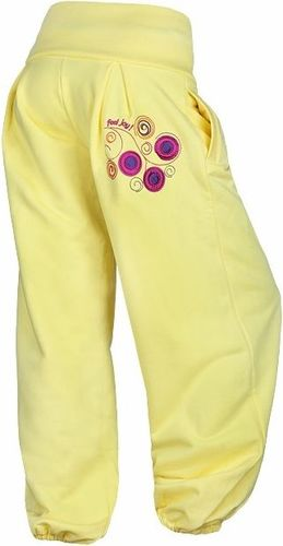 Feelj Spodnie Flow KIDS - żółte