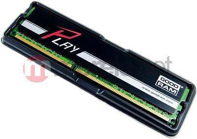 Pamięć GoodRam DDR3 PLAY 8GB 8192MB PC1600 BLACK CL10 - (GY1600D364L10/8G)