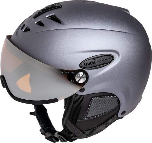 UVEX kask narciarski Hlmt 300 Visor strato met mat r. 57-59 cm (5661625006)