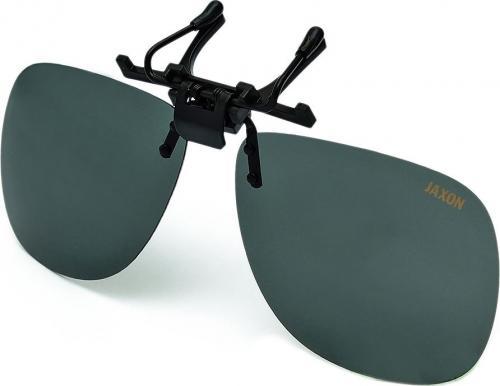 Jaxon Nakładki polaryzacyjne na okulary -  Grafitowe (AK-OKX01SM)