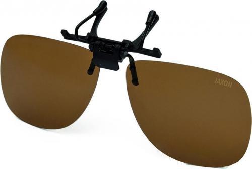Jaxon Nakładki polaryzacyjne na okulary - Bursztynowe (AK-OKX01AM)