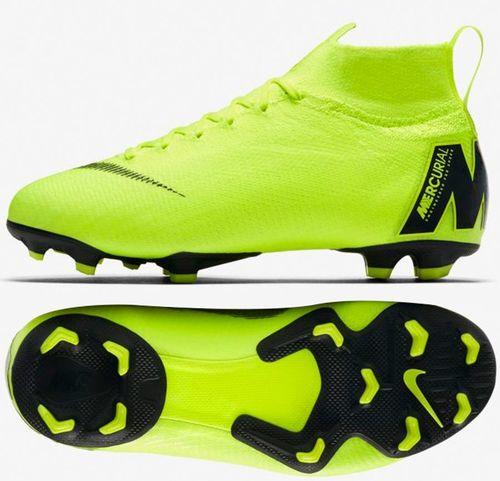 2e9560e73698b Nike Buty Mercurial JR Superfly 6 Elite FG żółte r. 38 (AH7340 701)