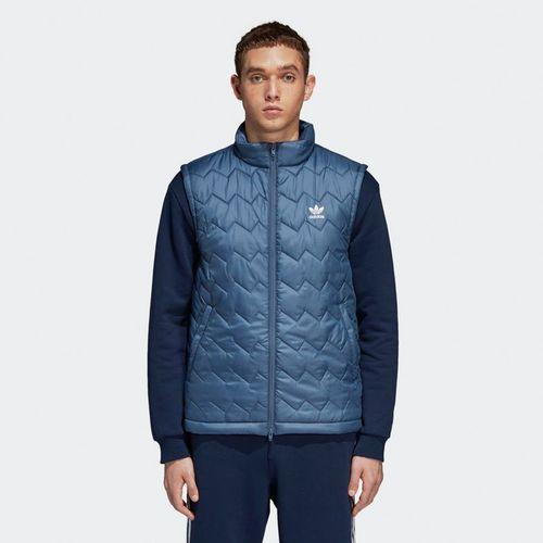 Adidas Kamizelka męska SST Pufy niebieska r. S (DH5029)