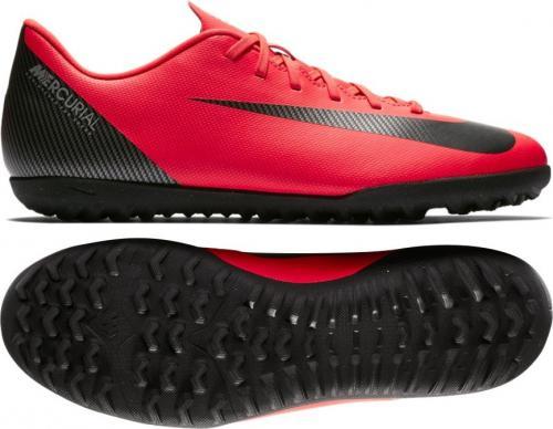 903652e4d16 Nike Buty piłkarskie Mercurial VaporX 12 Club CR7 TF czerwone r. 44 (AJ3738-