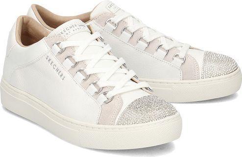 Skechers Buty damskie Side Street białe r. 35 (73531-WHT)