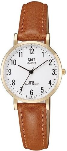 Zegarek Q&Q QZ03-104 Klasyczny damski brązowy