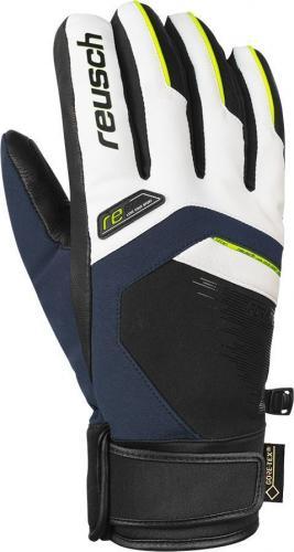 REUSCH rękawice narciarskie Beat GTX® MEN niebiesko-biało-zielone r. 8