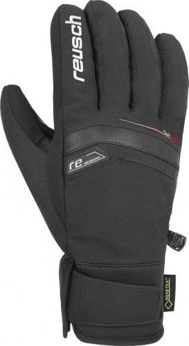 REUSCH rękawice narciarskie Bruce GTX czarno-białe r. 8