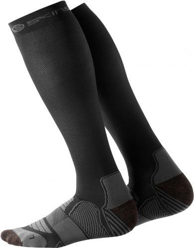 Skins skarpety narciarskie męskie czarno-szare r. S (ES0001936)