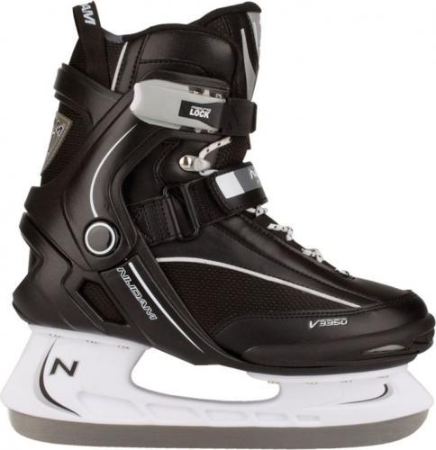 Nijdam Łyżwy hokejowe 3350 czarne r. 40