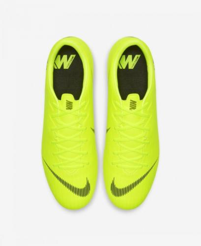Nike Buty piłkarskie Mercurial Vapor 12 Academy SG Pro limonkowe r. 46 (AH7376 701)