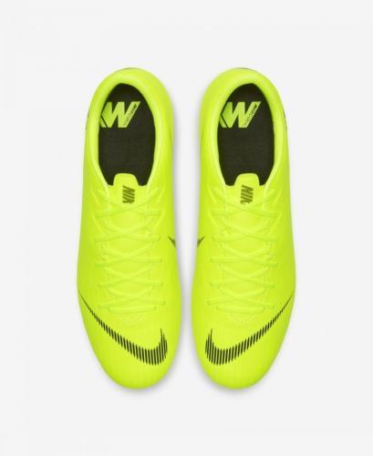 Nike Buty piłkarskie Mercurial Vapor 12 Academy SG Pro limonkowe r. 41 (AH7376 701)