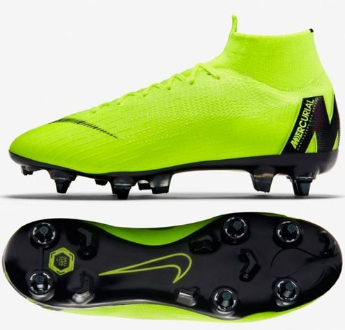 Nike Buty Mercurial Superfly 6 Elite SG-Pro żółte r. 44 1/2 (AH7366 701)