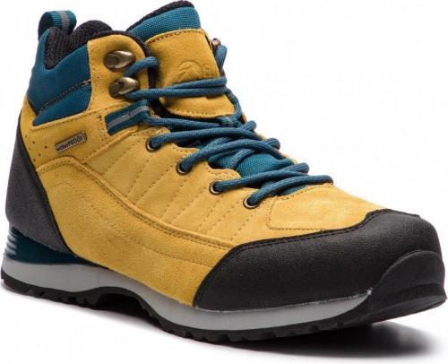Elbrus Buty męskie Pissis Mid Wp Yellow/Petrol Blue/Black/Beige r. 41