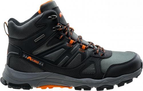 Elbrus Buty męskie Ojos Mid WP Black / Dark Grey / Orange r. 41