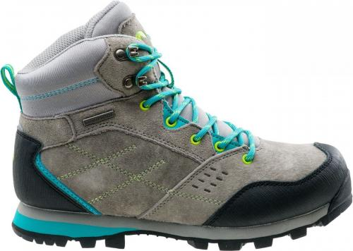Elbrus Buty damskie Condis Mid Wp Wo's Middle Grey/turquoise/light Lime r. 37