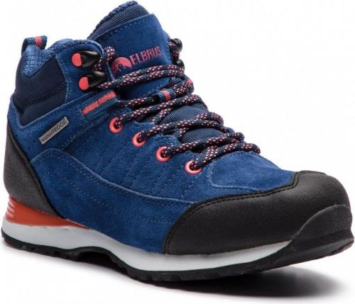Elbrus Buty damskie Pissis Mid Wp Wo's Light Navy/watermelon Red/navy r. 40