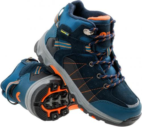 Elbrus Buty dziecięce Penaz Mid Wp Jr Navy/peacock Blue/black/orange r. 28