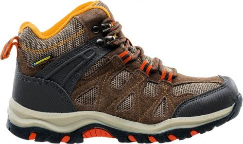 Hi-tec Buty dziecięce Kaori Mid Wp Jr Brown/dark Brown/orange r. 28