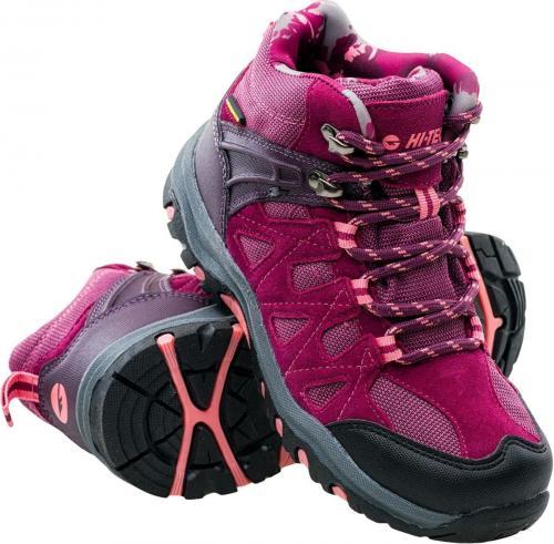 Hi-tec Buty dziecięce Kaori Mid Wp Jrg Dark Purple/purple/pink r. 32