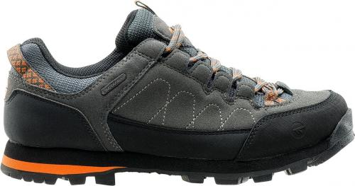 Hi-tec Buty męskie Gelen Low WP Dark Grey / Black / Orange r. 41