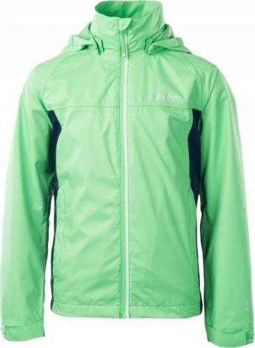 Hi-tec Kurtka narciarska dziecięca LUMBE JR POISON GREEN/DRESS BLUES r. 140 cm