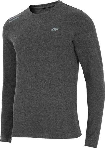 4f Koszulka męska H4Z18-TSML001 czarna r. S
