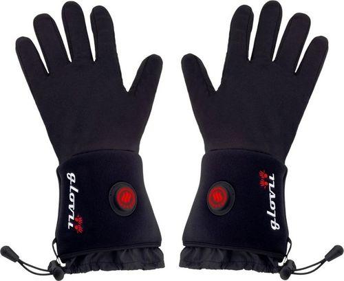 Glovii Ogrzewane rękawice czarne r. S-M