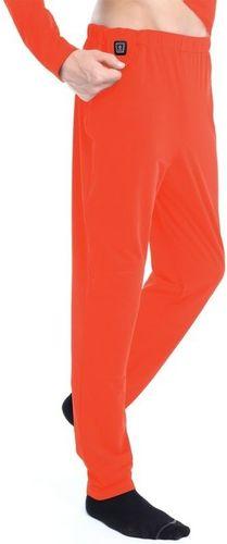 Glovii Spodnie męskie ogrzewane pomarańczowe r. M (GP1R)
