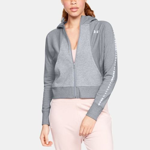 Under Armour Bluza damska TB Ottoman Fleece FZ WM W szara r. S (1321182-035)