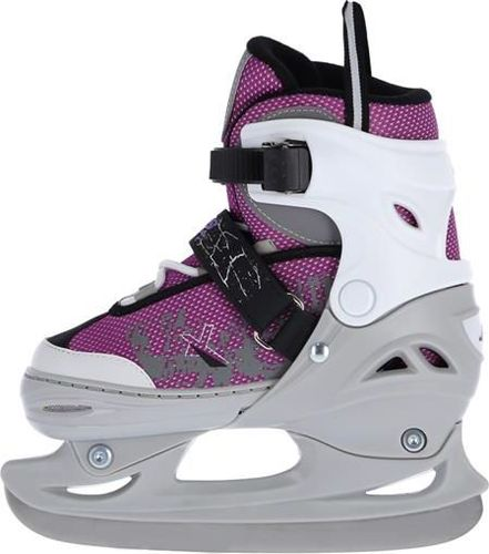 NILS Extreme Łyżwy hokejowe fioletowe r. 31-34 (NH11603 A)