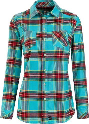 Woox Koszula damska Camisia Capri Chica niebiesko-czerwona r. 36